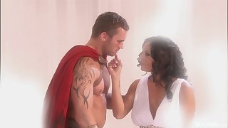 Erotic fantasy for Mikayla Mendez dreaming on her knight