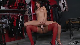 Sexy lesbians are using the dildo in perfect scenes