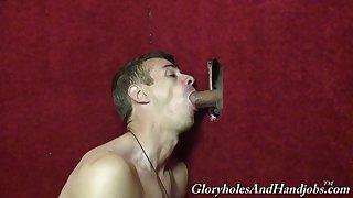 Glory hole gay pleasure for Chris Dano and Mark Galifione