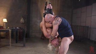 Milf with large tits, insane maledom bondage BDSM