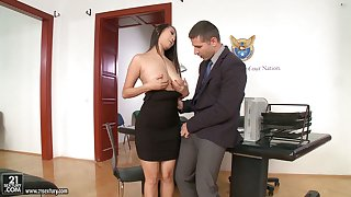 21 Sextury compilation featuring slutty secretaries having sex in someone's skin assignation
