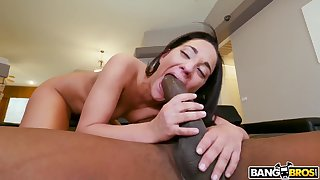 Amara Romani takes a monster cock in say no to