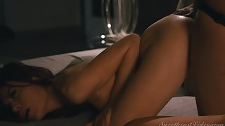 Sabina Rouge, Brittney Amber - Lesbian Anal Vol. 5 Scene 3 - Anal On The First Date