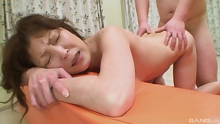 Japanese grown up gets the dick she always wanted