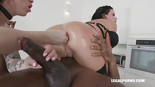Veronica Avluv added to Monika Ultra-Kinky had an bi-racial four-way the other day added to enjoyed how it sensed