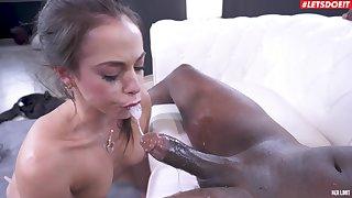 Hardcore interracial gender nigh fit whittle Anastasia Brokelyn